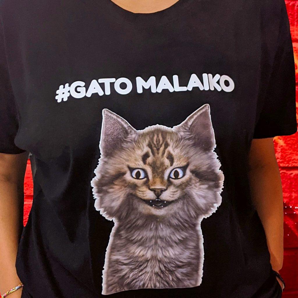 T-Shirt Gato Malaiko