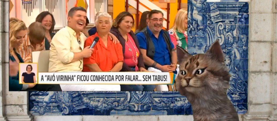 Gato Malaiko Avó Virinha 2